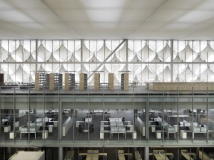 Interior of King Fahed National Library
