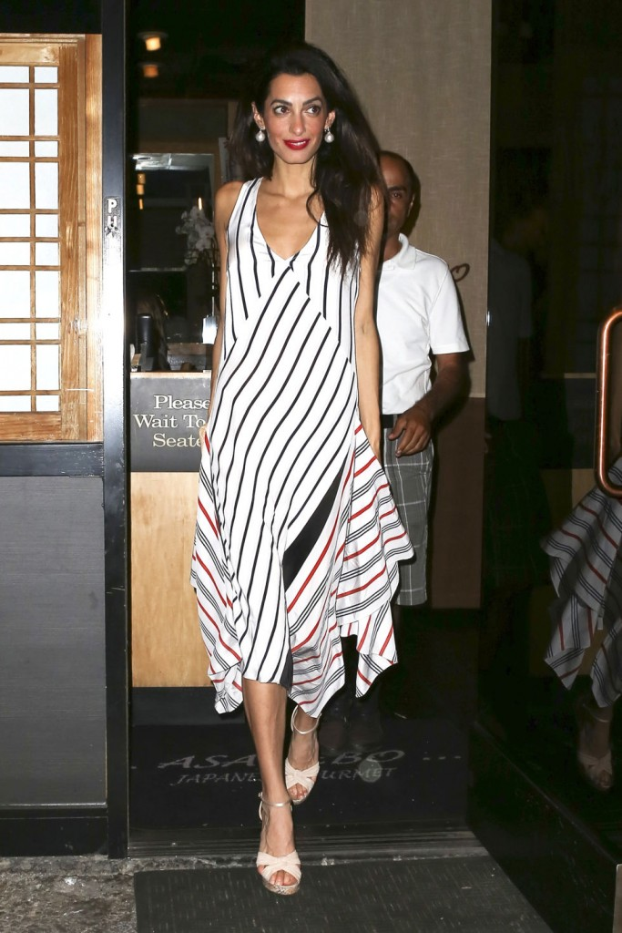 Amal Clooney-asymmetric-outfit