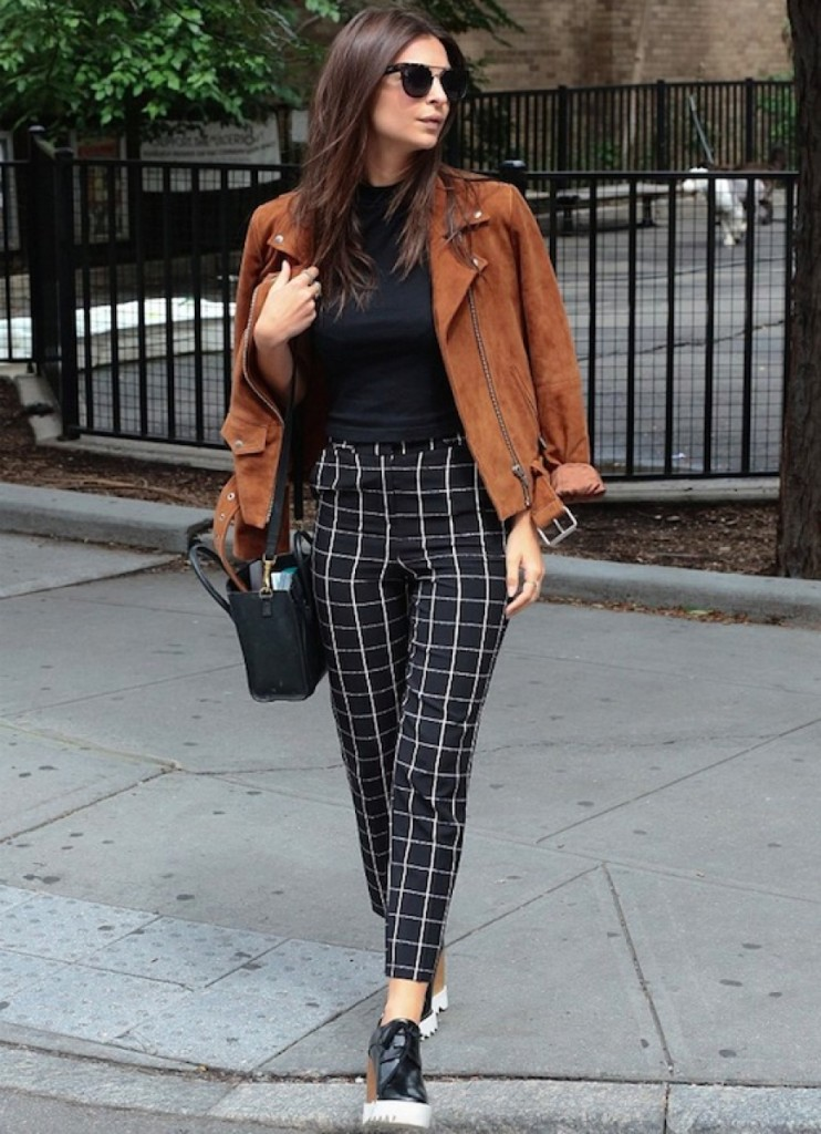 Stella McCartney checkered pants