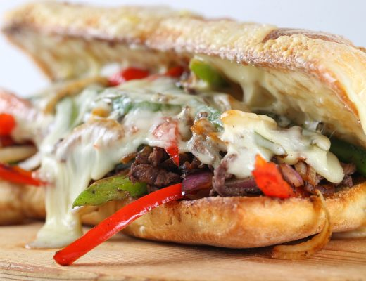Yummy homemade Philly Cheesesteak