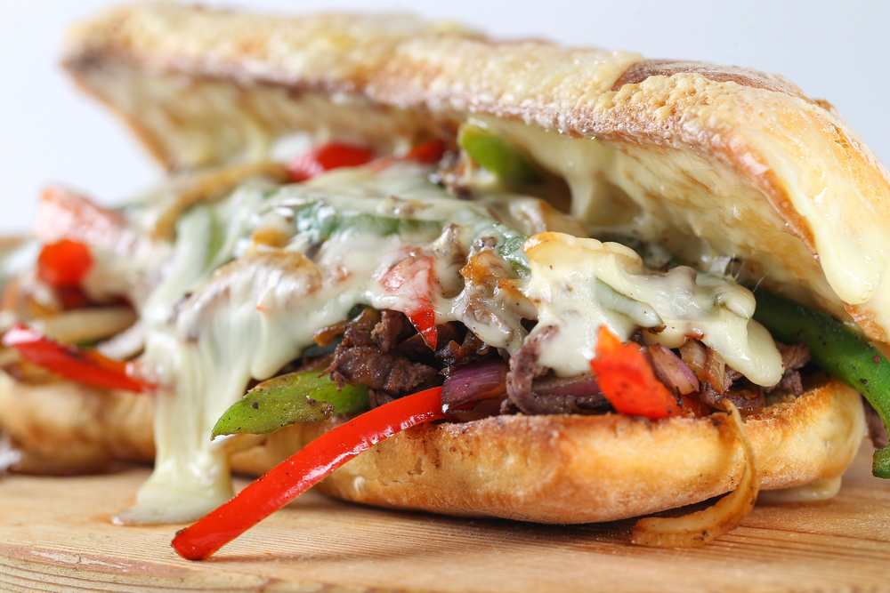 description of a philly cheese steak