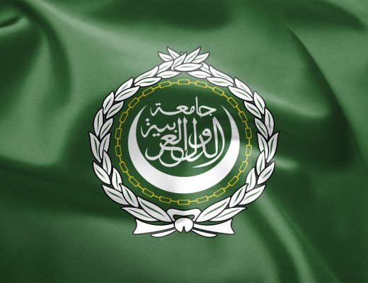 The Arab League flag, representing a union of all Arab nations