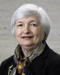 Janet Yellen one of the World's Most Powerful Women