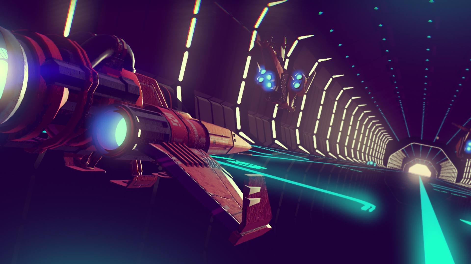 No Man's Sky Space Station Tube