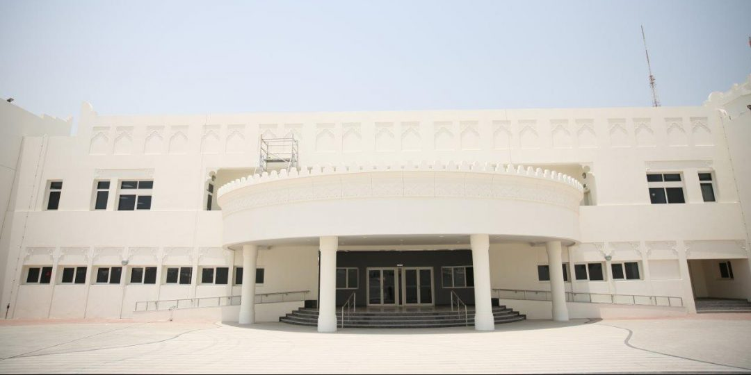 One of the new school buildings in Qatar developed by Ashghal