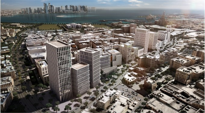 Qatar Financial Centre will relocate to the local 'Wall Street' in Msheireb Downtown, Doha
