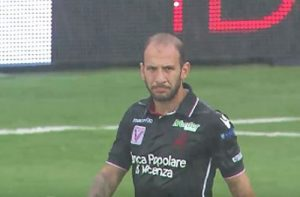 Cristiano Galano - Vicenza player and reciever of the first green card in football