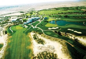 Doha Golf Club which will host the Qatar Ladies Open