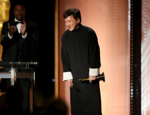 Jackie Chan recieves Oscar - Getty Images