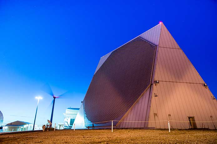 Qatar will receive a variant of this Early Warning Radar from Raytheon
