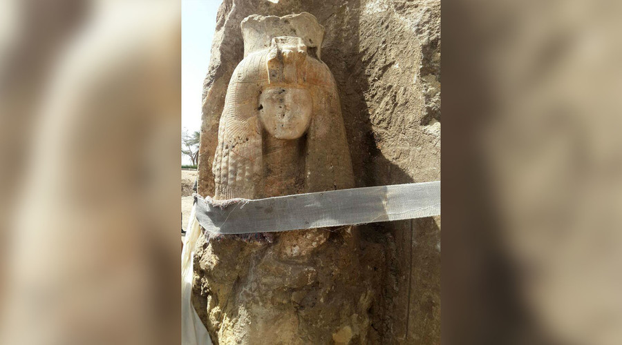 Egypt Uncovers Statue Of Queen Tiye - Egyptian Ministry of Antiquities/RT