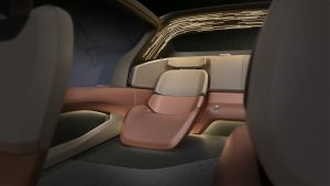 The Nio Eve back seats - Nio
