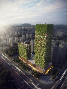 Nanjing Green Towers, Nanjing Vertical Forest Project - Stefano Boeri Architetti