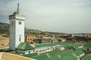 The University of al-Karaouine in Fes, Morocco, the oldest continually operating university in the world.