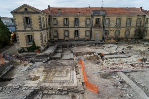 The site where researchers found the ancient Roman city of Ucetia - Denis Gliksman INRAP