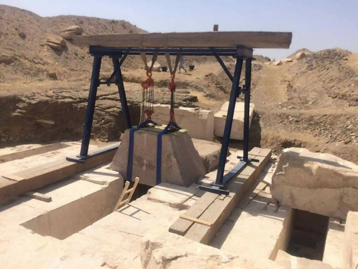 Entrance to the burial chamber - Egypt Ministry of Antiquities