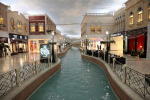 Inside Villaggio Mall in Doha