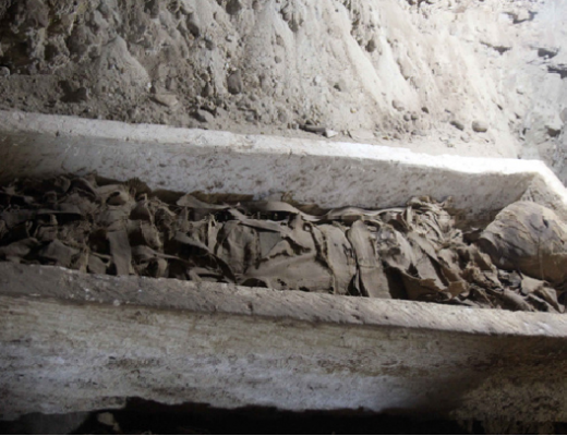Newly discovered mummy in Egypt