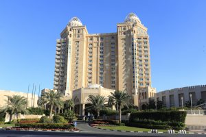 The luxurious Four Seasons Hotel in West Bay, Doha