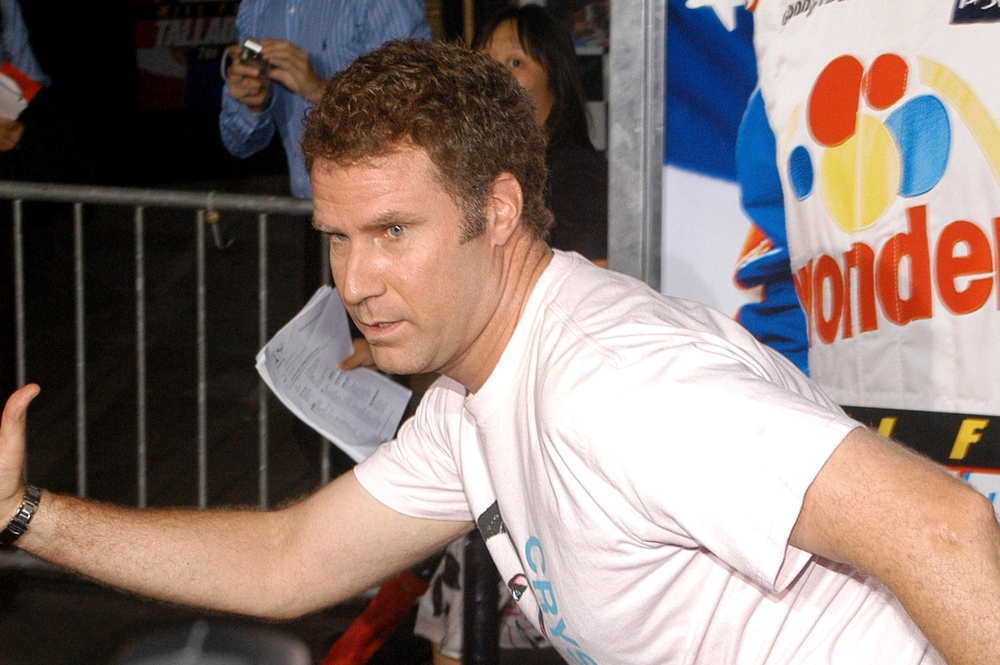 Will Ferrell at Premiere of TALLADEGA NIGHTS THE BALLAD OF RICKY BOBBY