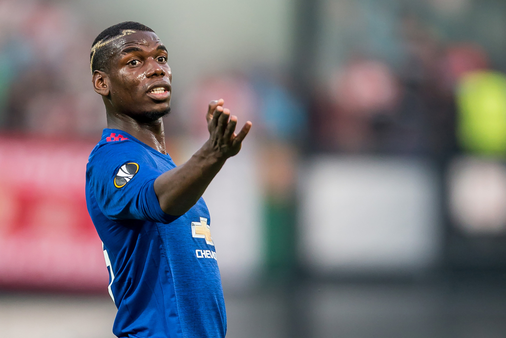 World's most expensive football player, Manchester United midfielder, Paul Pogba