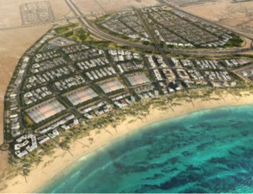 Ras Bufontas special economic zone render
