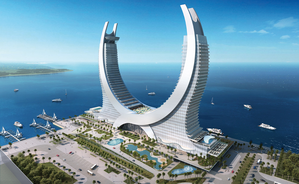Katara Towers by Katara Hospitality are planned to stand in the newly constructed Lusail City north of Doha