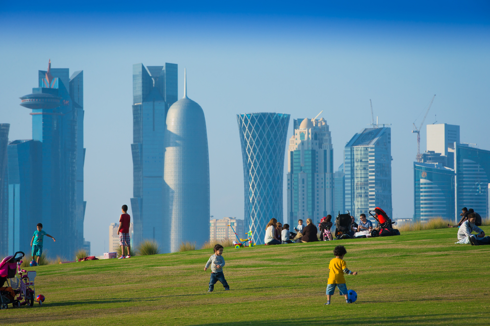 A Stanford University report found the people of Qatar and other Arab nations among the laziest in the world, based on average number of steps per day data