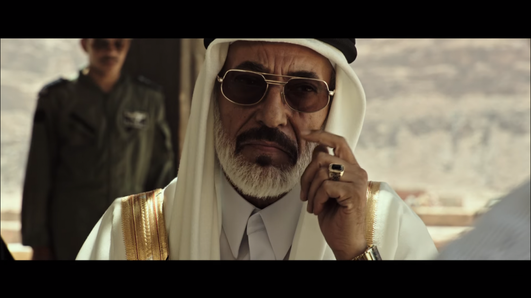 Ghassan Massoud in All the Money in the World, directed by Ridley Scott (2017)
