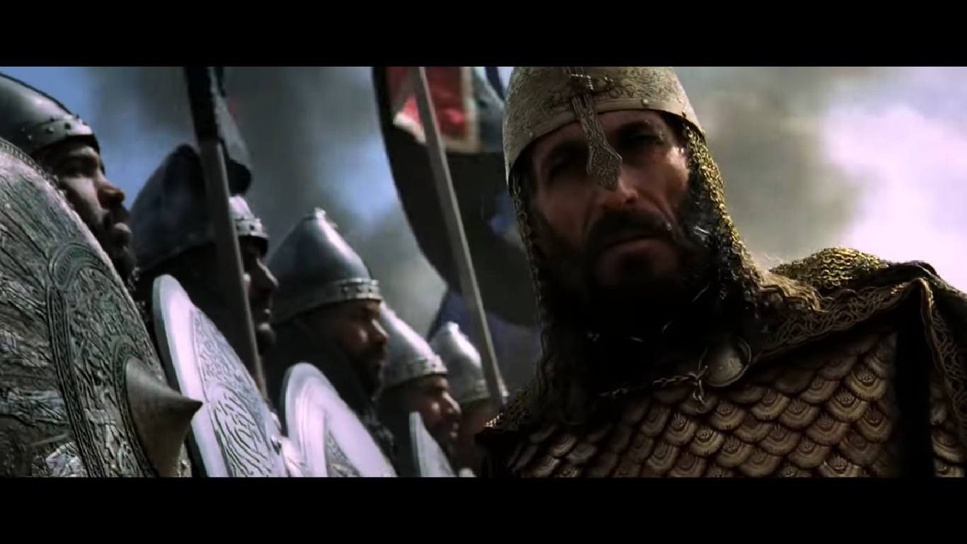 Ghassan Massoud in Kingdom of Heaven, directed by Ridley Scott (2005)