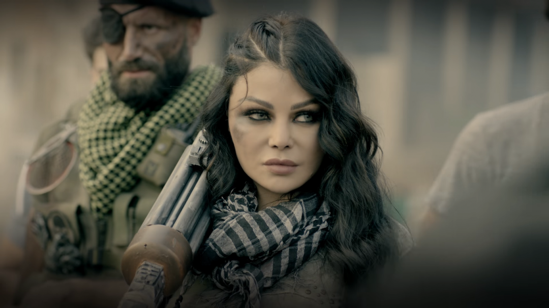 Lebanese Haifa Wehbe is the new face of Invasion video game by WIZZO and mbc group