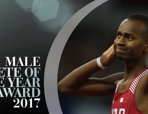 Mutaz Barshim has been nominated for World Athlete of the Year 2017 by the IAAF