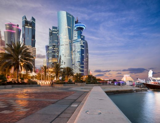 Qatar is investing in projects worth billions, mainly in gas and oil