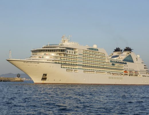 Seabourn Encore cruise ship marks start of 20172018 cruise season as it docks at Doha Port