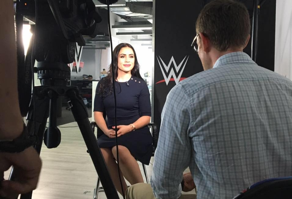 Shadia Bseiso becomes the first Female Arab wrestler with WWE