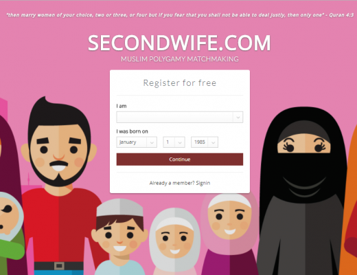 secondwife halal dating app helps you find a second wife (polygamy)