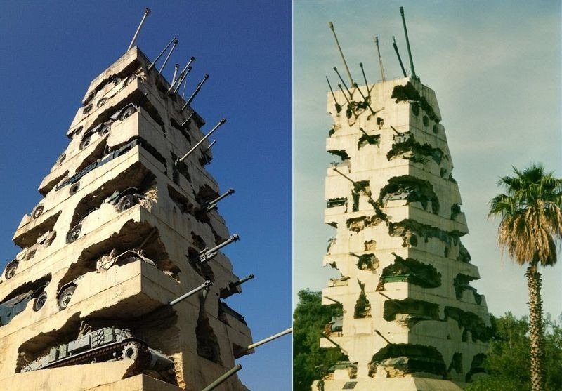 the Hope for Peace Monument in Yarzeh, Lebanon