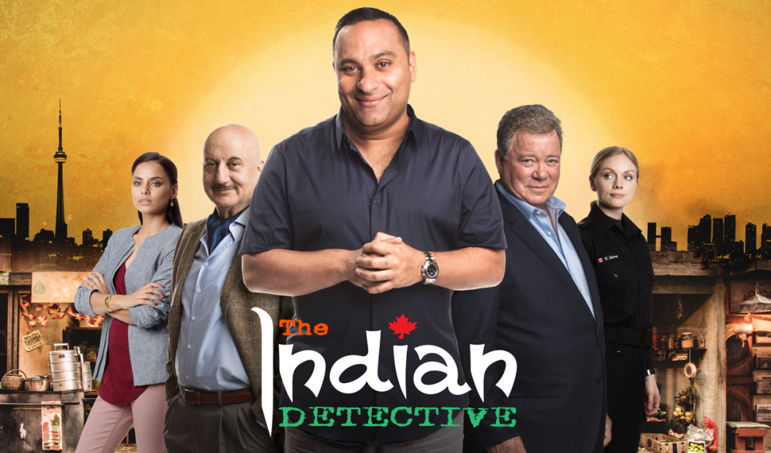Russell Peters stars in the Indian Detective