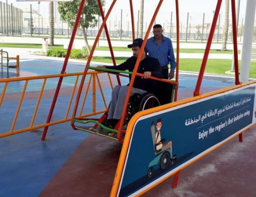 Sasol, through Accessible Qatar, has installed the first inclusive playground in the region