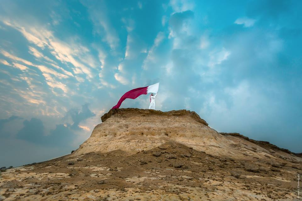 The Symbol of Unity exhibition by photographer Maria Ovsyannikova in solidarity with Qatar