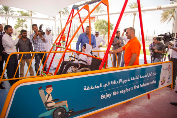 first inclusive playground in the region