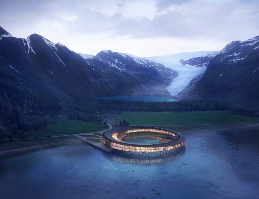 Svart, in Norway, will be the world's first energy positive hotel - Snohetta