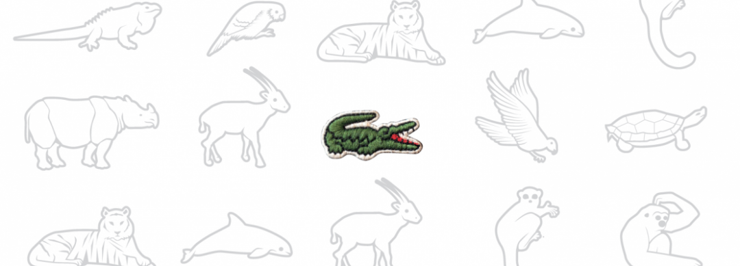 Lacoste drops crocodile logo to help endangered animal species with IUCN