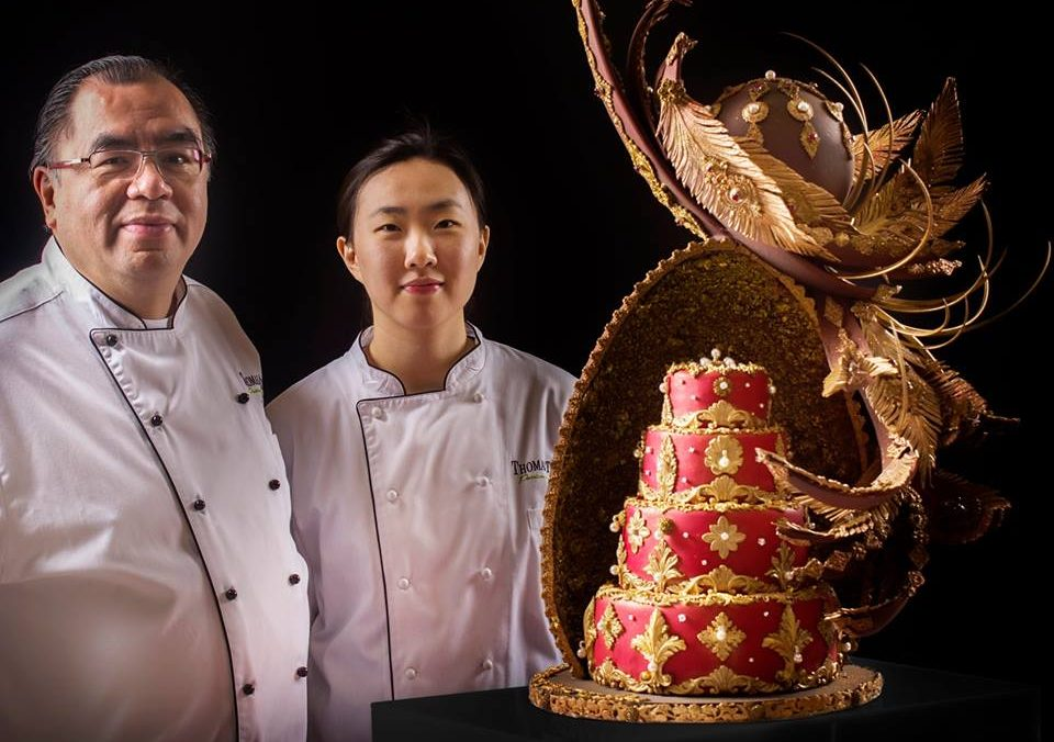 Sheraton Grand Doha unveils unique wedding cake by Thomas Lui