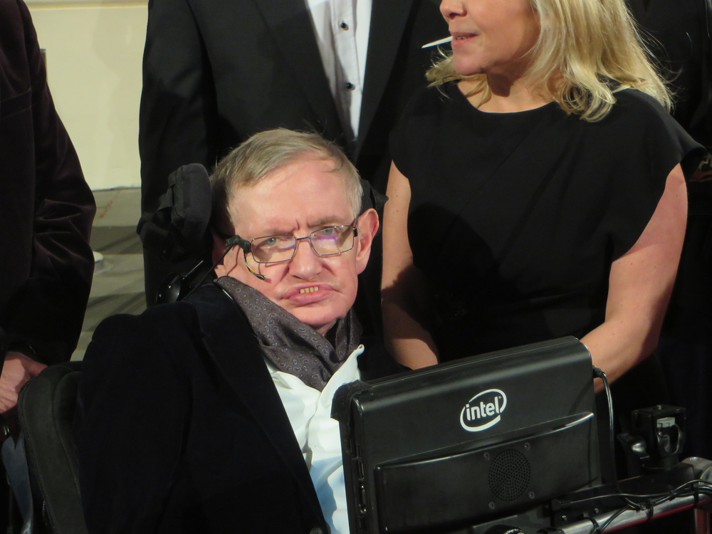 The death of Stephen Hawking, known for his theories on black holes, has been announced by his family