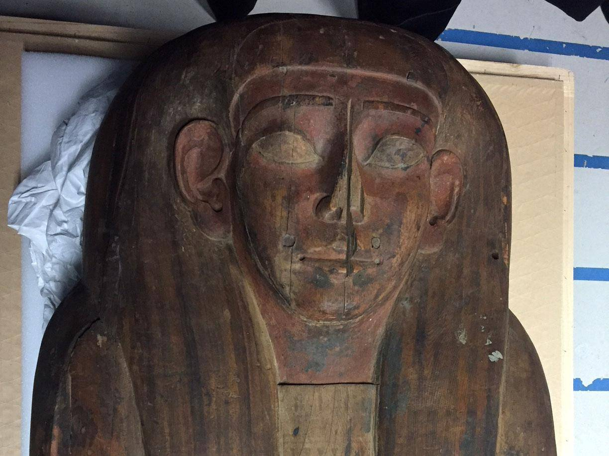 The sarcophagus of Mer-Neith-it-es, REUTERS Independent