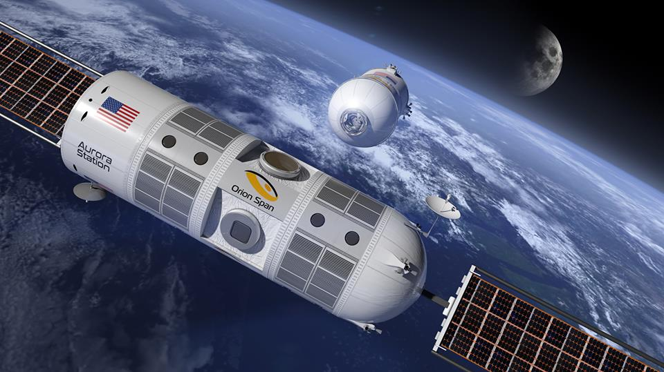 the Aurora Station by Orion Span will become the world's first space hotel
