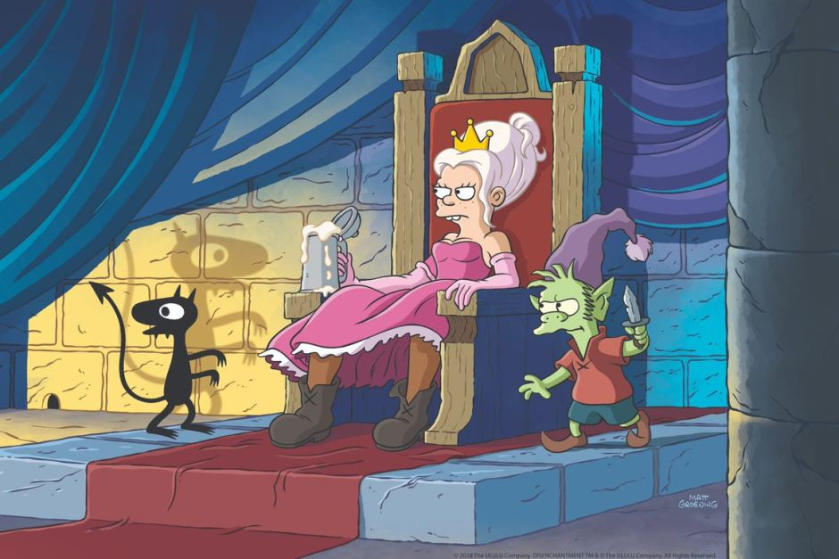 The Simpsons and Futurama creator Matt Groening has teamed up with Netflix to make Disenchantment