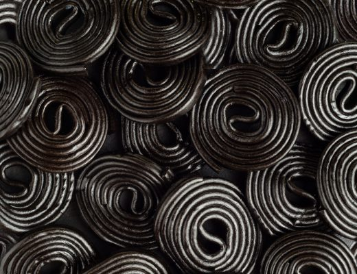 glycyrrhizin, found in black licorice, can cause potassium levels to drop drastically