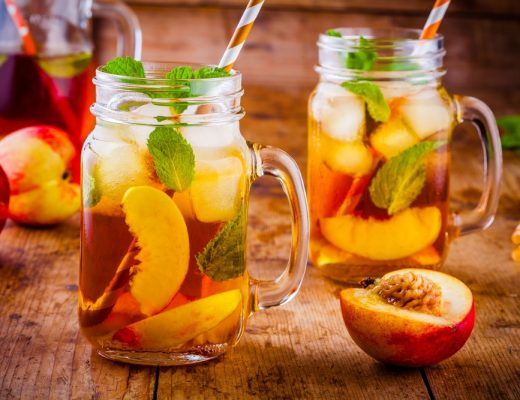 the ultimate Iced Tea Peach Recipe